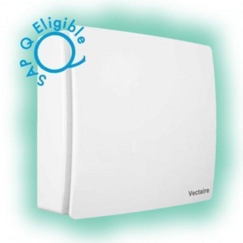 Vectaire Elix Cuisine Salle de bain extracteur ventilateur centrifuge 10,2cm Max 28L/S Sap Q habilité