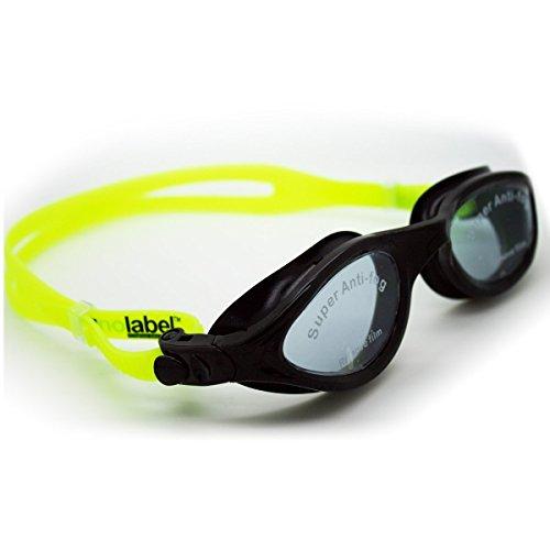 Schwimmbrille Für Erwachsene Herren & Damen | Perfekt Für Triathlon Wettkampf & Einsteiger | 100% Antibeschlag + UV Schutz + Idealer Sicht- und Tragekomfort | Nasenklammer + Ohrstöpsel