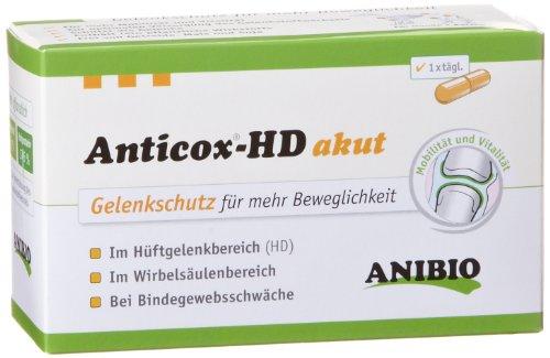 Anibio Anticox-HD akut 50 Kapseln Ergänzungsfutter für Hunde, 1er Pack (1 x 0.03 kg)