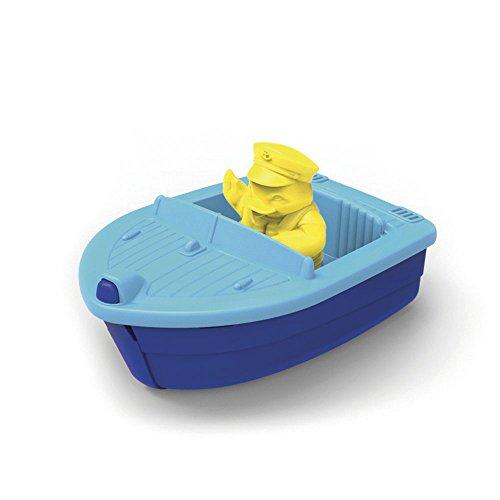 Green Toys Lanzamiento del barco (azul)