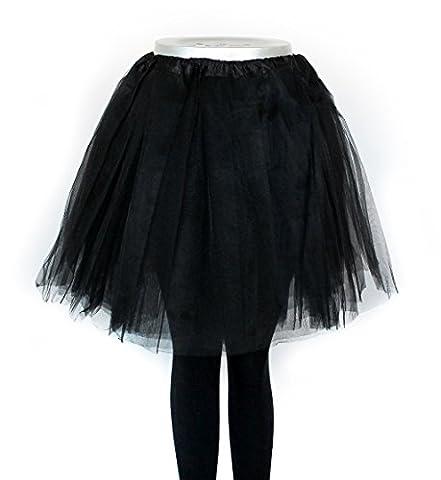 Übergröße Damen Tütü Tutu Minirock Petticoat Tanzkleid Ballettrock Pettiskirt Unterrock