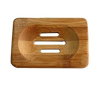 amazing-trading(TM) Vogue Fine Hot Sale Natural Bamboo Soap Dish Storage Holder