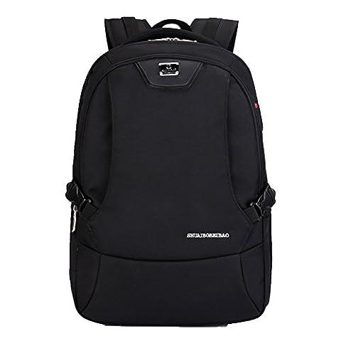 Rieovo Rucksack für Mädchen/Jungen. Weiterführende Schulrucksack - Laptoprucksack mit Fächern für bis zu 15,6''-Notebook,Slim Rucksack