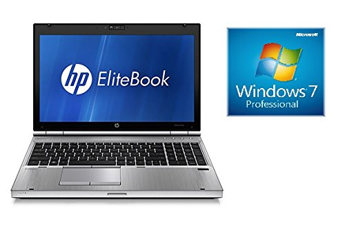 'HP EliteBook 8560p 15.6 MATTE LED SCREEN LAPTOP, Core i7, 256 GB SSD, Win 7 (Ref.)