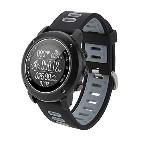LEVEL GREAT Outdoor-Sport Smart Watch GPS-Sport-Armbanduhr IP68 wasserdichte Schwimmen Fitness Tracker Herzfrequenz Smart Watch (Fitness Laufband Lebensdauer)