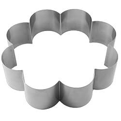 Lares cake ring, spring steel, metal, 27 x 7 cm