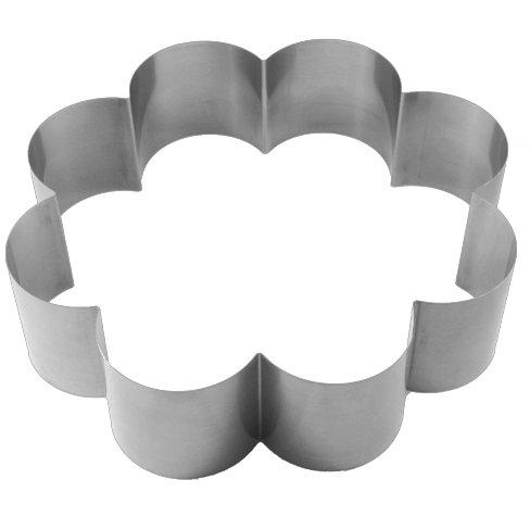 LARES Tortenring, Federbandstahl, Metall, 27 x 7 cm