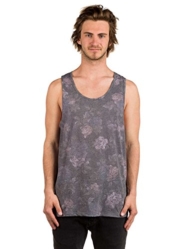 Herren Tank Top Globe Moonshine Tank Top Midnight