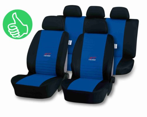 R-auto-sitz Type (Universal Schonbezug Sitzbezug blau, Details siehe Artikelbeschreibung)