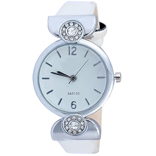 Super Drool ST2946_WT_WHITE  Analog Watch For Girls
