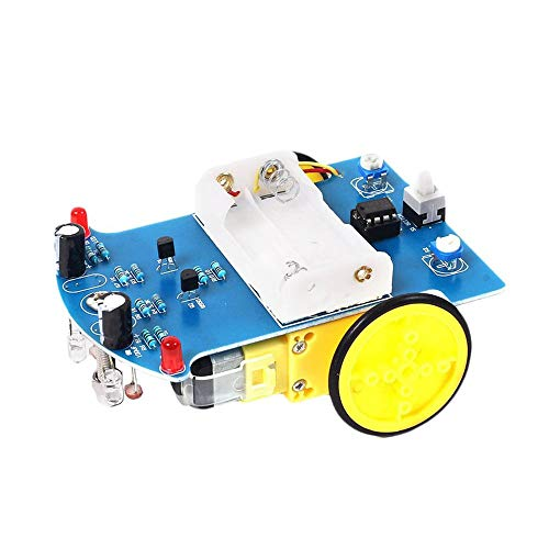 D2-1 Intelligente Smart Trcking Line Follower Sensor Hindernisvermeidungsmodul Für Arduino Reflectance Optischer Schalter Roboter Auto - Blau & Gelb
