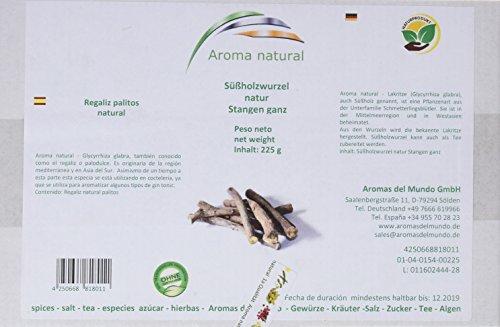 Aroma natural Regaliz Palitos Natural - 225 g