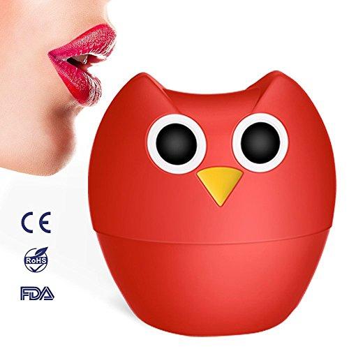 MEXITOP Owl Aumentador de labios lip plumper Agrandador y Aumentador de Labios de Silicona Suave - Bomba Succionadora Natural Para Labios Más Carnosos y Sexis (Con Estilo de Lóbulo Sencillo y Doble)