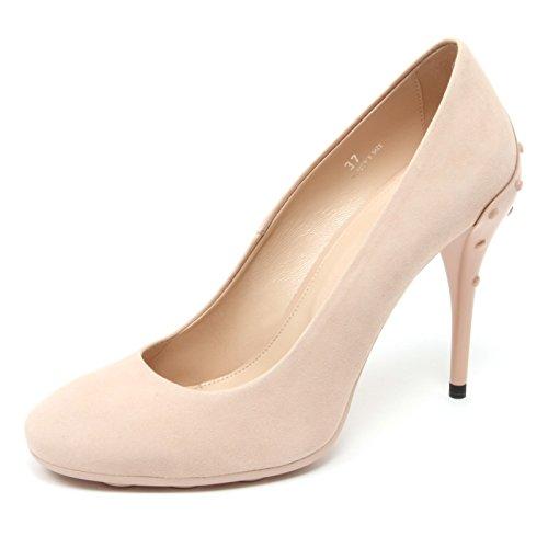 B4510 decollete donna TOD'S T105 scarpa cipria shoe woman Cipria