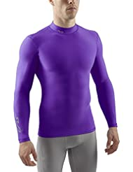 Sub Sports Cold Men's Mock Neck Thermal Compression Baselayer Long-Sleeved Top