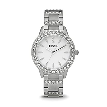 Fossil Jesse Analog White Dial Women's Watch – ES2362