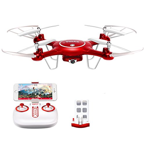 Preisvergleich Produktbild CreaTion Syma X5UW Wifi FPV 720P HD Kamera Quadcopter Drone mit Flugplan Route App Steuerung und Höhenhaltefunktion