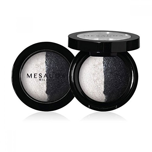 Mesauda Luxury Eyeshadow Duo Mesauda Luxury Eyeshadow Duo Ombretto Cotto Duo Wet&Dry Colore 503 Aurora