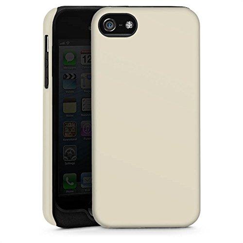 Apple iPhone 4 Housse Étui Silicone Coque Protection Taupe Gris Gris Cas Tough brillant