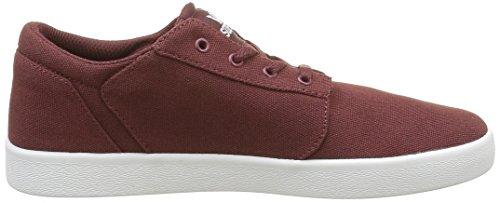 Supra Unisex-Kinder Yoreklow Sneaker Rouge (Burgundy Wht)