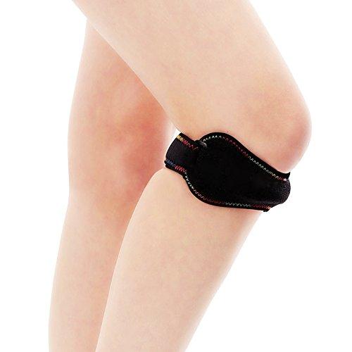 2PCS Profi-Patella-Kniebandage für Damen und Herren – Patella sehnen band-Bandage-Sport auch ideal für Alltag und Beruf - Patella-Strap gegen Patella spitzen syndrom
