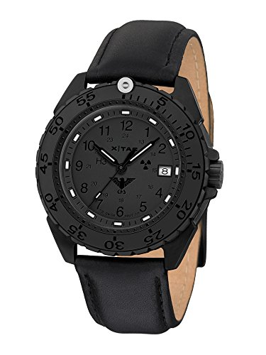 KHS Enforcer Black Steel Xtac KHS Enfbsxt L with Leather Strap Black