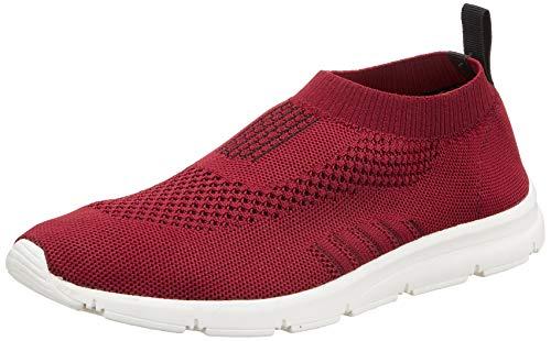 Bourge Men's Vega-4 Maroon Running Shoes-7 UK (41 EU) (8 US) (Vega-4-07)