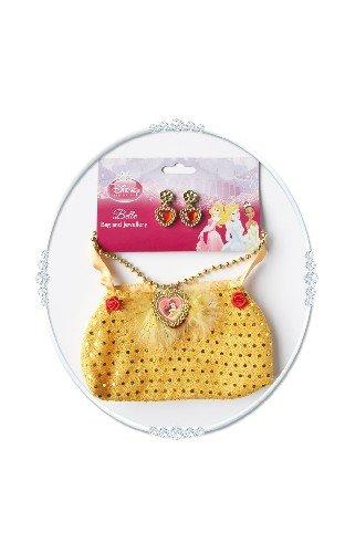 Rubie's Offizielle Tasche mit Schmuckim Belle-Design, Einheitsgröße (Belle Aus Die Schöne Und Das Biest Kostüm Für Erwachsene)
