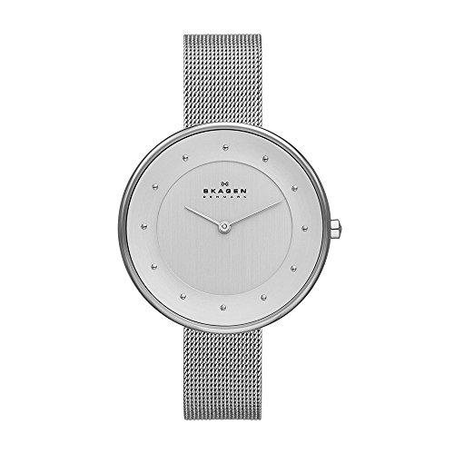 Skagen Damen-Uhren SKW2140 (Silber Bar Zeitgenössische)