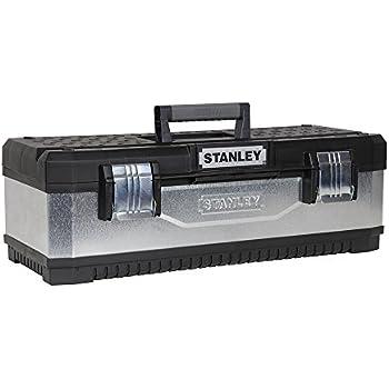 Stanley 195618 Boîte à outils en métal galvanisé 50 cm (Import Grande Bretagne)
