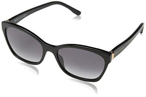 BOSS Hugo Damen 0846/S 9C 807 Sonnenbrille, Schwarz (Black/Dark Grey Sf), 57
