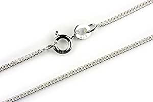 Chaine Courbe Femme Argent fin 925 - 46cm