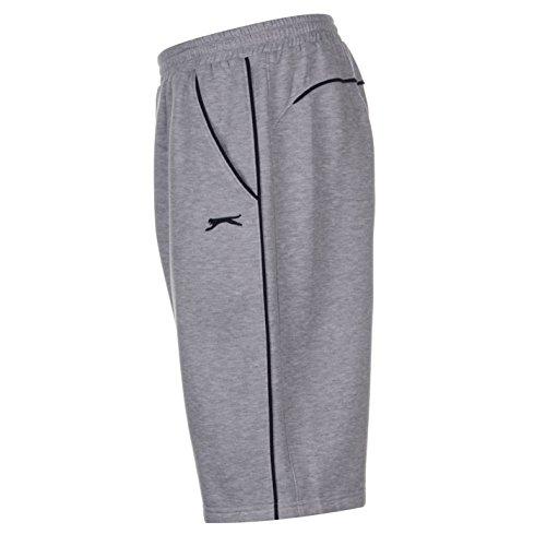 Slazenger Herren Fleece Shorts Grau1 ...