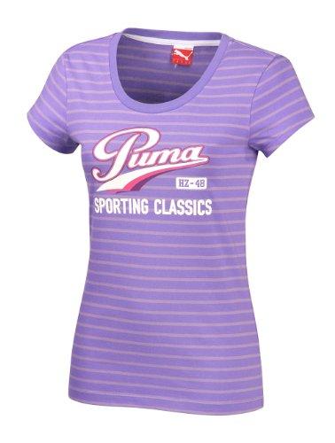 Puma T-shirt Lifestyle Thé Violet - Violet