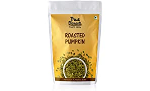 True Elements Roasted Pumpkin Seeds (Unsalted), 125gm