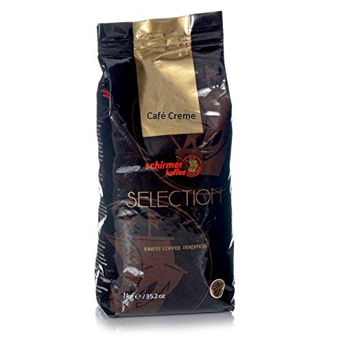 Schirmer Café Creme Selection - Karton 8 x 1kg ganze Bohne