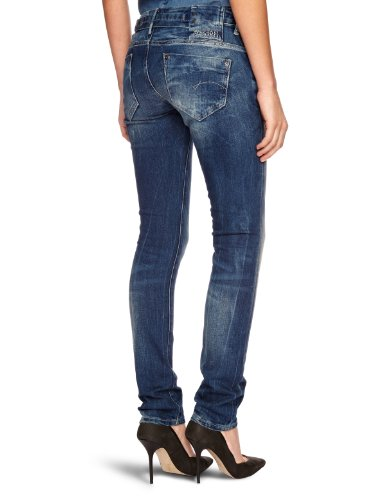 G-STAR Damen Midge Skinny Jeans Blau (medium aged - 071)