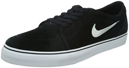 Nike Herren Satire Skaterschuhe, Schwarz/Weiß (Black/White), 45 EU