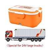 iBaste Elektrische Lunchbox Speisenwärmer Edelstahl Warmhaltebox Tragbare Food Box für Nahrung 1.5L Tragbare Heizung Mahlzeit Container Bento Heizung