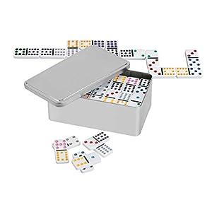 """Philos 3628""""Doble 12"""" Domino en Caja de Metal"""