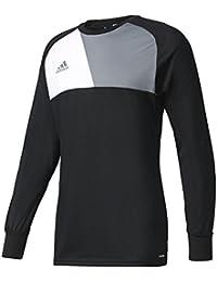 on sale 66c9f 8a0f7 adidas Assita 17 GK, T-Shirt A Manica Lunga Uomo, Black, S
