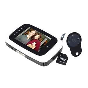 Basi TS 750 Digitaler Türspion mit Kamera/Video/Türglocke, weiß