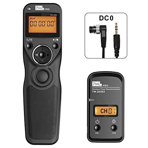 PIXEL TW-283 DC0 Télécommande sans Fil Déclencheur Minuteur Câble de déclenchement pour Nikon D850 D800 D800E D810 D700 D200 D300 D500 D1 D2 D3 D4 D4 D5 N90 F5 F6 F100 F90 D90X Fujifilm S5 Pro S3