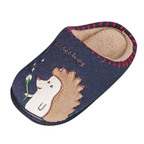 Jaysis Kleinkind Warme Hausschuhe Neugeborene Süßes Tier Pantoffel Mädchen Jungen Krippe Schuhe Weiche alleinige Anti-Rutsch Baby Turnschuh Schuhe Indoor Babyschuhe (Billig Krippe Kostüm)