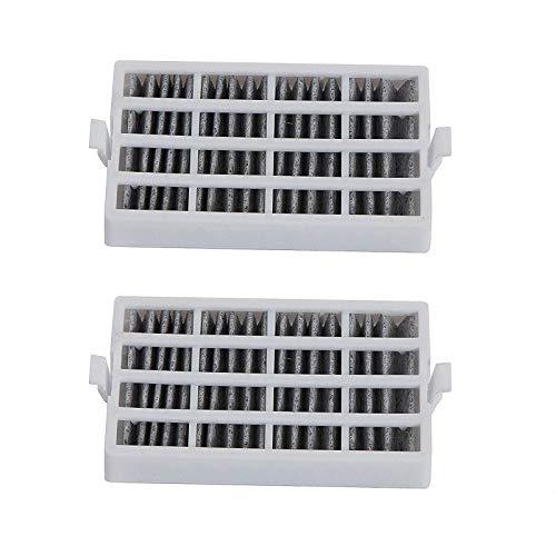 2 filtros de aire antibacterianos para frigorífico Whirlpool AIR1 481248048172 481248048173 480131000232...