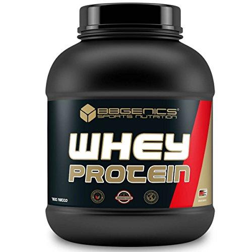 BBGENICS Deutschland -Whey Protein, Molke Protein, Eiweisspulver - 750g Dose Vanille