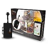 PAJ GPS Motorcycle Finder Localizzatore Moto, Antifurto con Connessione Batteria - Versione con Posizione Online