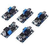 5 Piezas DC-DC Supply Module, LM2596S Modulo de Fuente de alimentacion Ajustable, Module Power Converter
