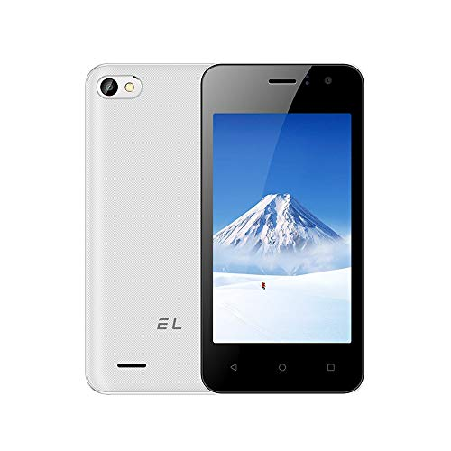 Android-Smartphone Xinda Android-Smartphone Global EL W40 3G Smartphone entriegelt 514 + 4G Android 6.0 Dual SIM (Weiß)