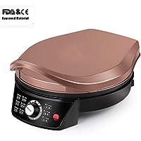 Zqword Automatische Doppelseitige Synchrone Heizung Pancake Machine Elektrische Haushaltsbackform Pancake Machine Kitchen Helper